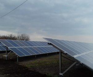 Одесская область наземная СЭС мощностью 30кВт