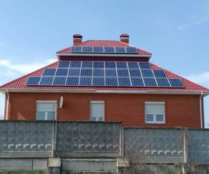 Киевская область крышная СЭС мощностью 28кВт