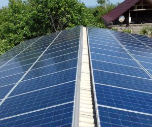 Одесская область крышная СЭС мощностью 30кВт