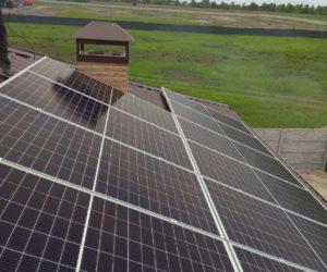 Киевская область, Дымер. Крышная СЭС мощностью 5 кВт
